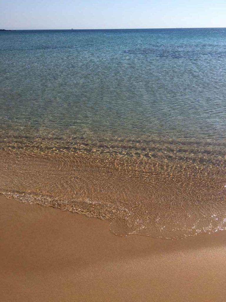 Sulubahçe Plajı, Bozcaada