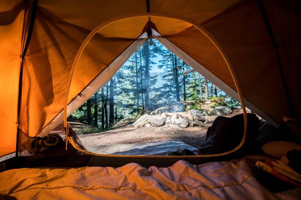 kamp yeri seçerken