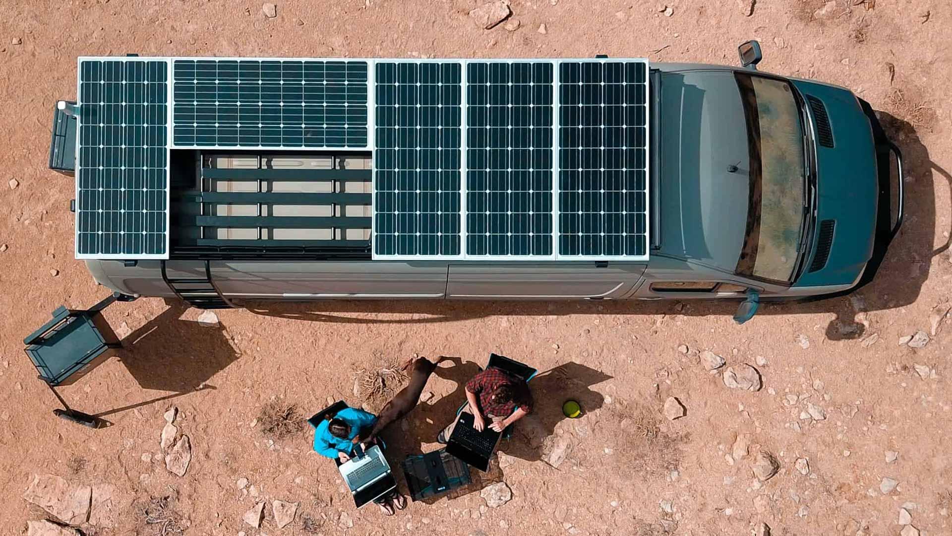 Karavan Güneş Enerjisi